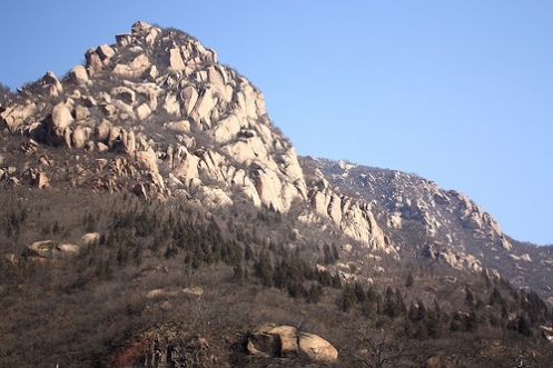 Mountains at Badaling