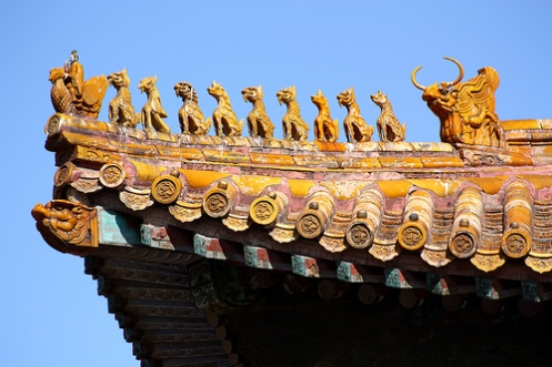 Forbidden City Roof Detail