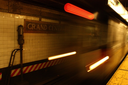 NY Grand Central Station Subway