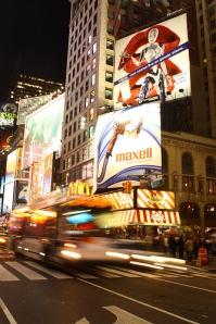 NY Night Traffic