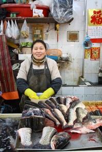 Shanghai Fresh Market Vendor