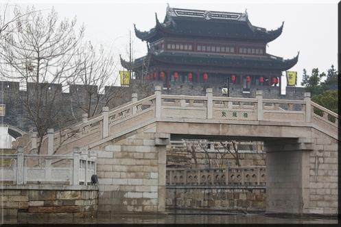 Suzhou Wall Tower