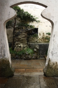 Yu Garden Doorway