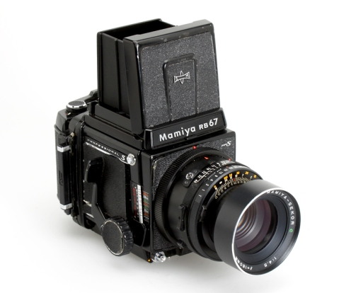 Mamiya RB67 Pro S w/ Sekor C 180mm lens