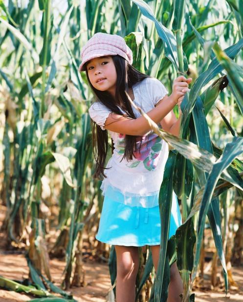Gabbie in the Cornfield Maze